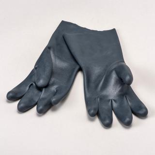 耐薬品性手袋(ダークブルー)
