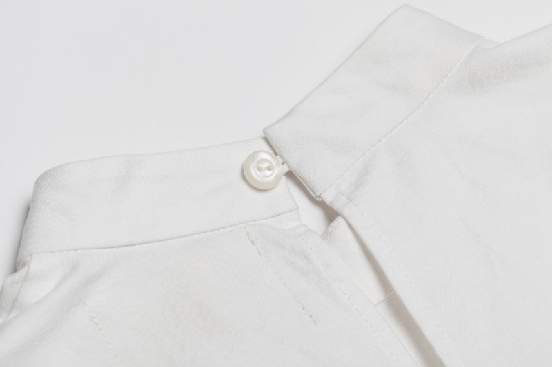 THE FLOWER FRILL SHIRT (WHITE)