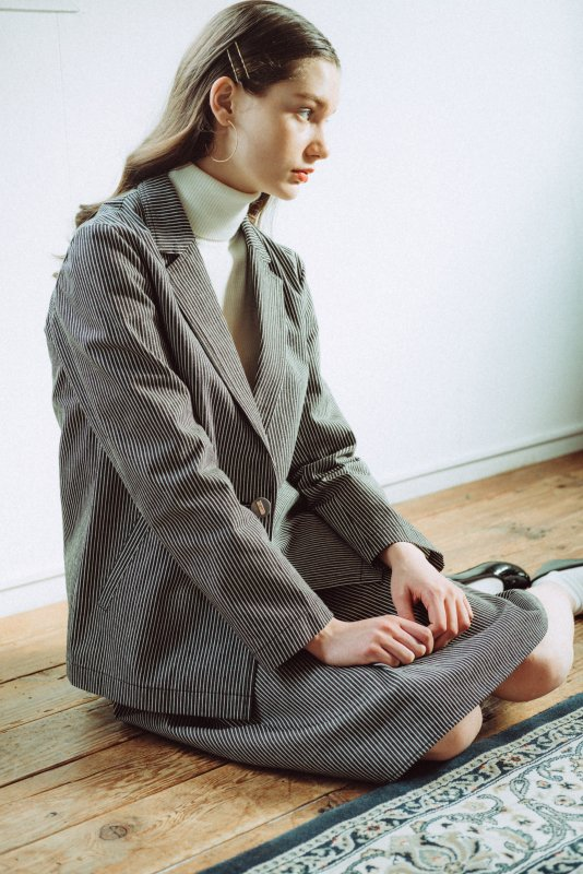 THE HICKORY JACKET<img class='new_mark_img2' src='https://img.shop-pro.jp/img/new/icons21.gif' style='border:none;display:inline;margin:0px;padding:0px;width:auto;' />