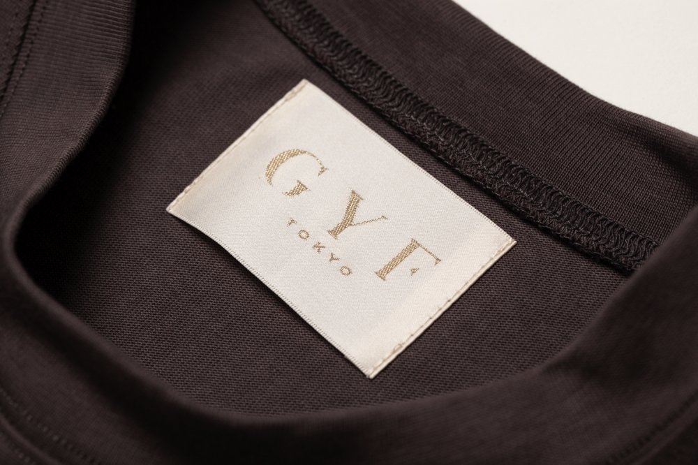 THE OVER SIZED GYF LOGO LONG SLEEVE T-SHIRT (GRAY PINK)