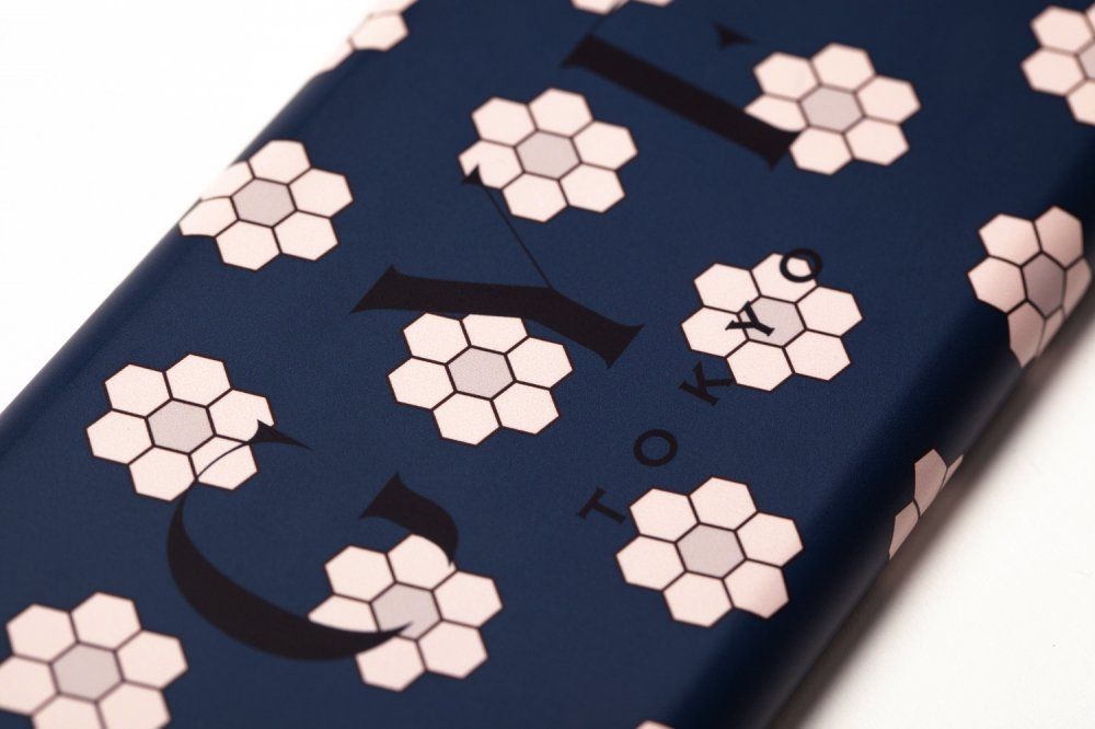 THE RETRO TILE MOTIF GYF LOGO IPHONE CASE