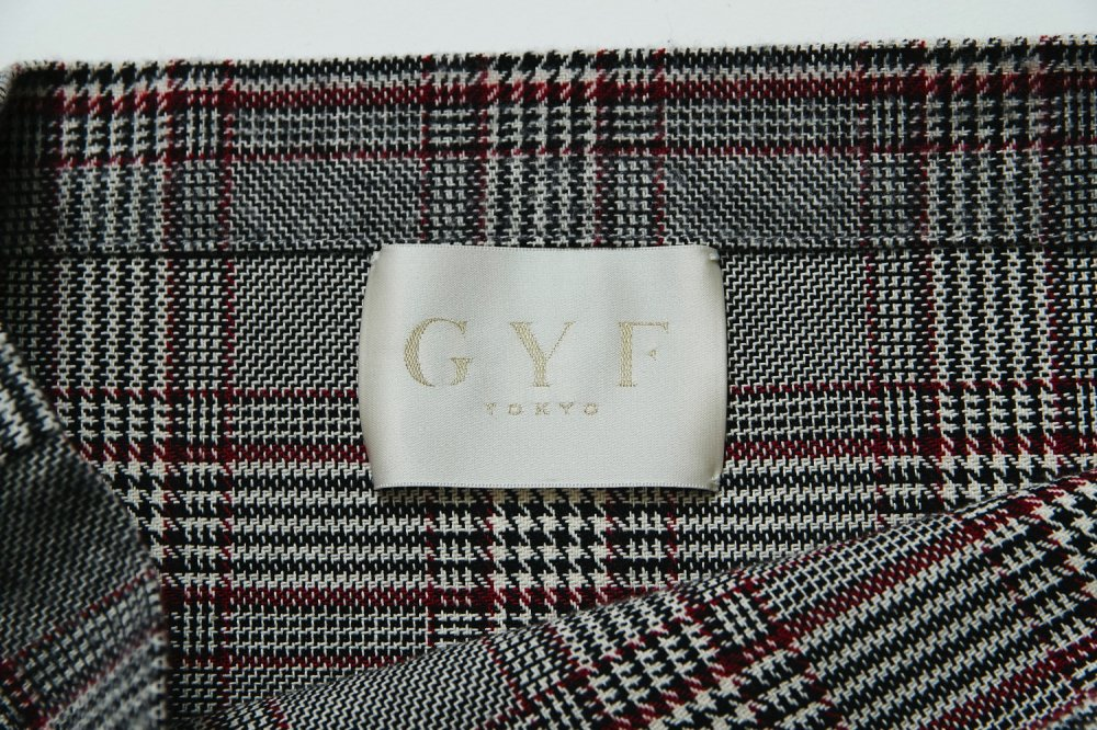 THE GYF SYMBOL CHECK TOTE BAG