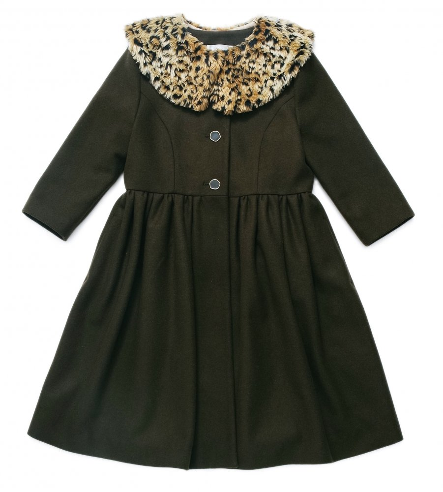 THE LEOPARD TIPPET COAT