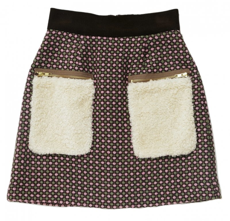 GYF TOKYO - THE FUR POCKET TWEED MINI SKIRT (PINK)<img class='new_mark_img2' src='https://img.shop-pro.jp/img/new/icons21.gif' style='border:none;display:inline;margin:0px;padding:0px;width:auto;' />
