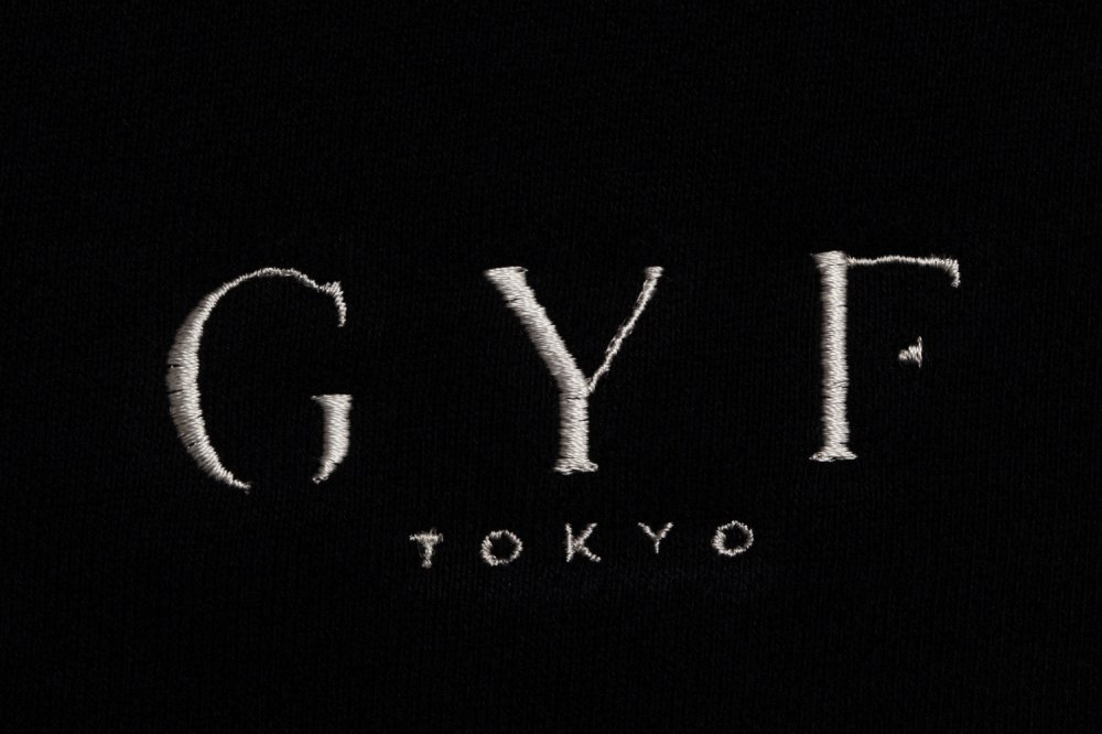 THE GYF ORIGINAL LOGO EMBROIDERY HOODIE (BLACK)