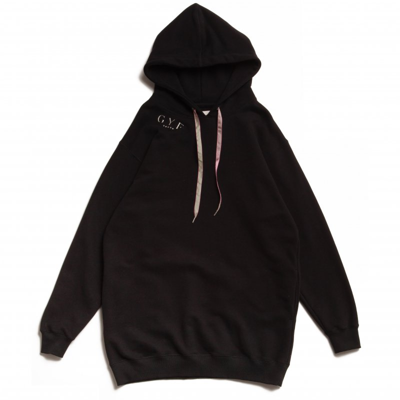 GYF TOKYO - THE GYF ORIGINAL LOGO EMBROIDERY HOODIE (BLACK)<img class='new_mark_img2' src='https://img.shop-pro.jp/img/new/icons21.gif' style='border:none;display:inline;margin:0px;padding:0px;width:auto;' />