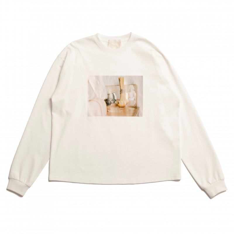 GYF TOKYO - THE CONCEPT PHOTO PRINT LONG T-SHIRT (WHITE)