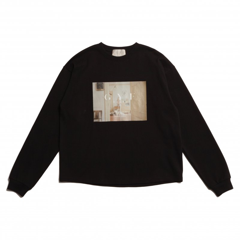 GYF TOKYO - THE CONCEPT PHOTO PRINT LONG T-SHIRT (BLACK)