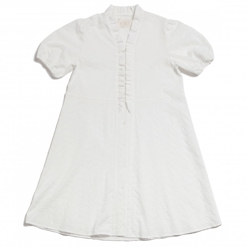 GYF TOKYO - THE COTTON LACE DRESS(WHITE)