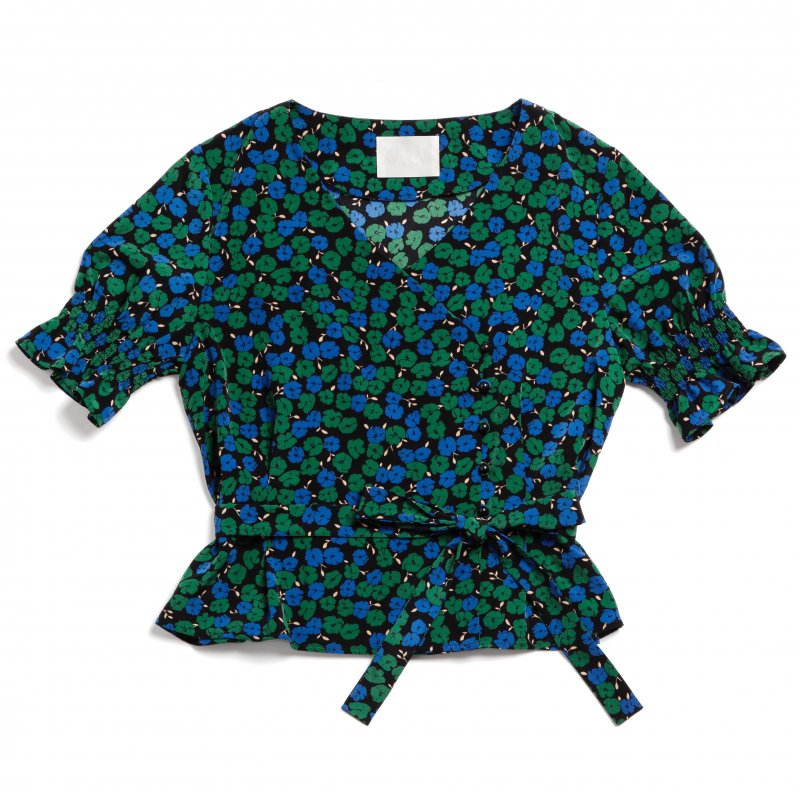 GYF TOKYO - THE CROSSOVER TOPS(FLOWER PATTERN)