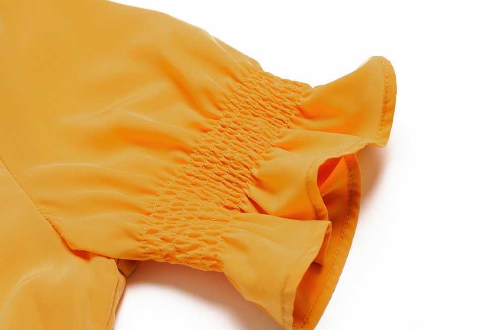 THE CROSSOVER TOPS(MUSTARD)