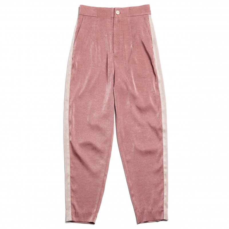 GYF TOKYO - THE ALL SATIN SIDE LINE PANTS