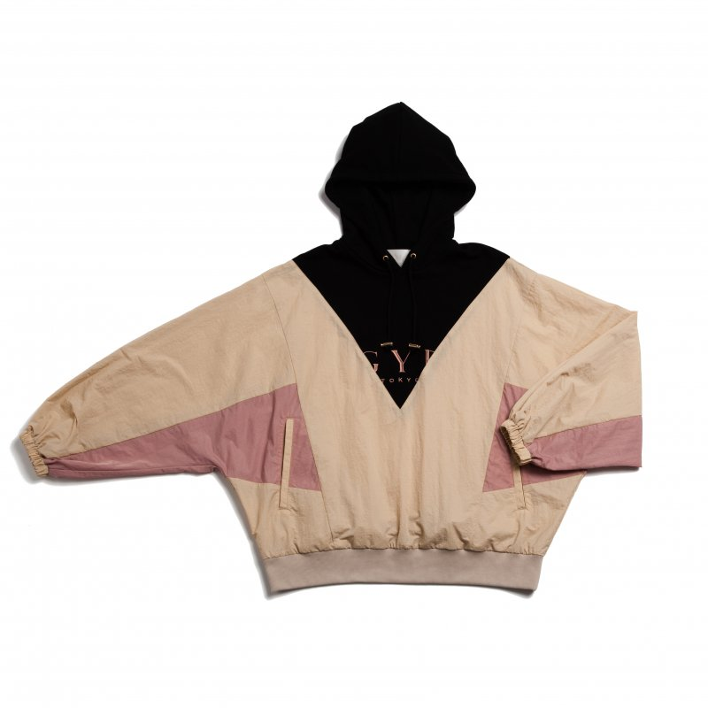 GYF TOKYO - THE GYF LOGO HOODED PULLOVER(PINK)