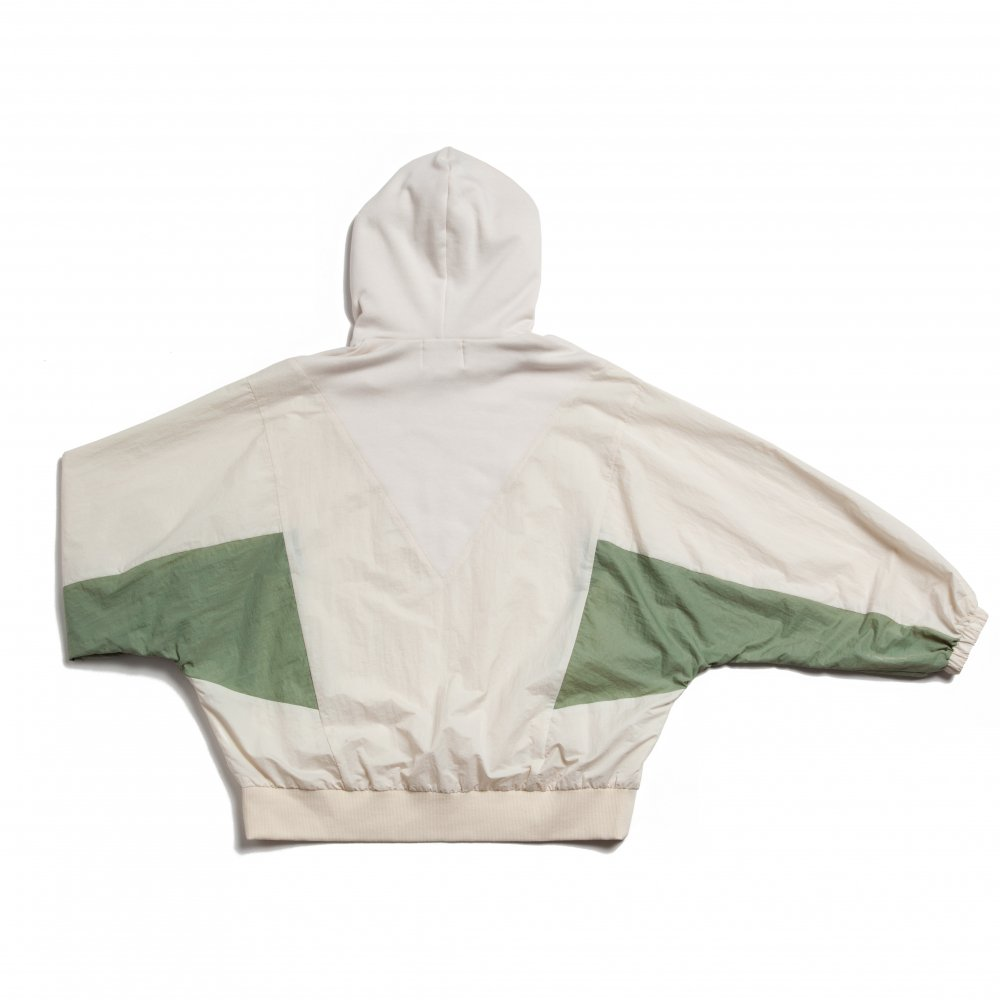 THE GYF LOGO HOODED PULLOVER(WHITE)