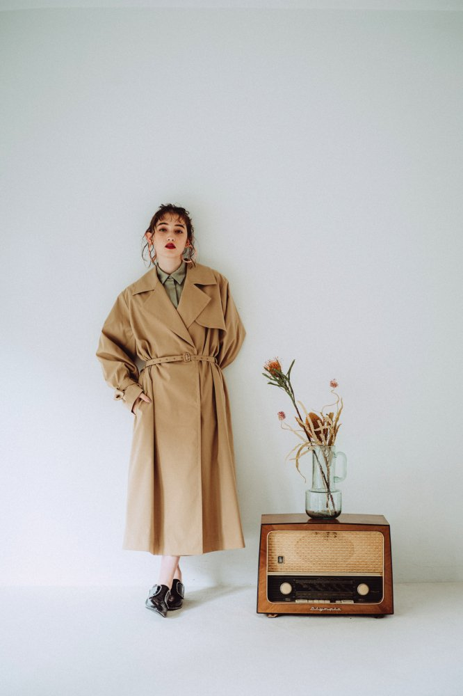 THE OVERSIZED TRENCH COAT (BEIGE)