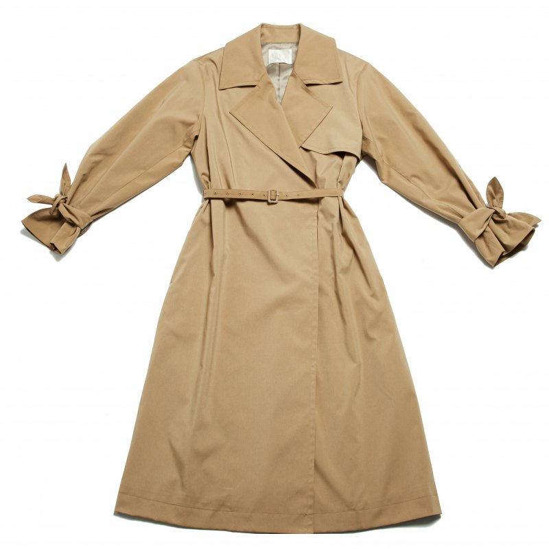GYF TOKYO - THE OVERSIZED TRENCH COAT (BEIGE)