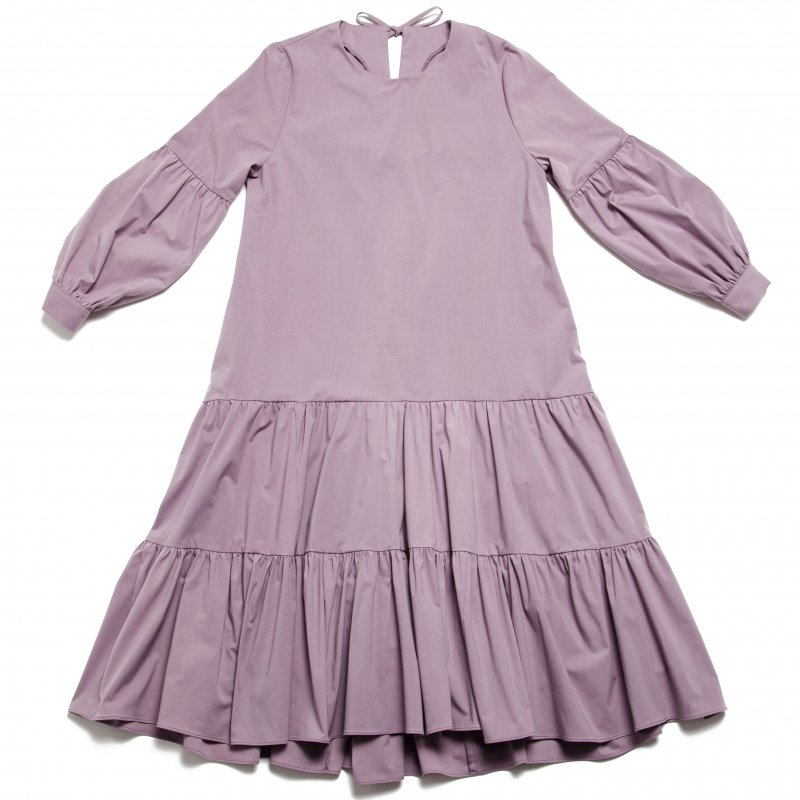 GYF TOKYO - THE BACK RIBBON TIERED DRESS