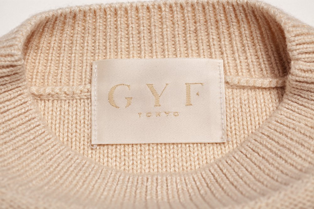THE SHAGGY DOCKING ROUND NECK KNIT (OFF WHITE)