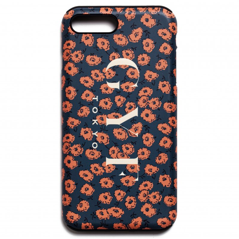 GYF TOKYO - THE RETRO FLOWER PATTERN IPHONE CASE