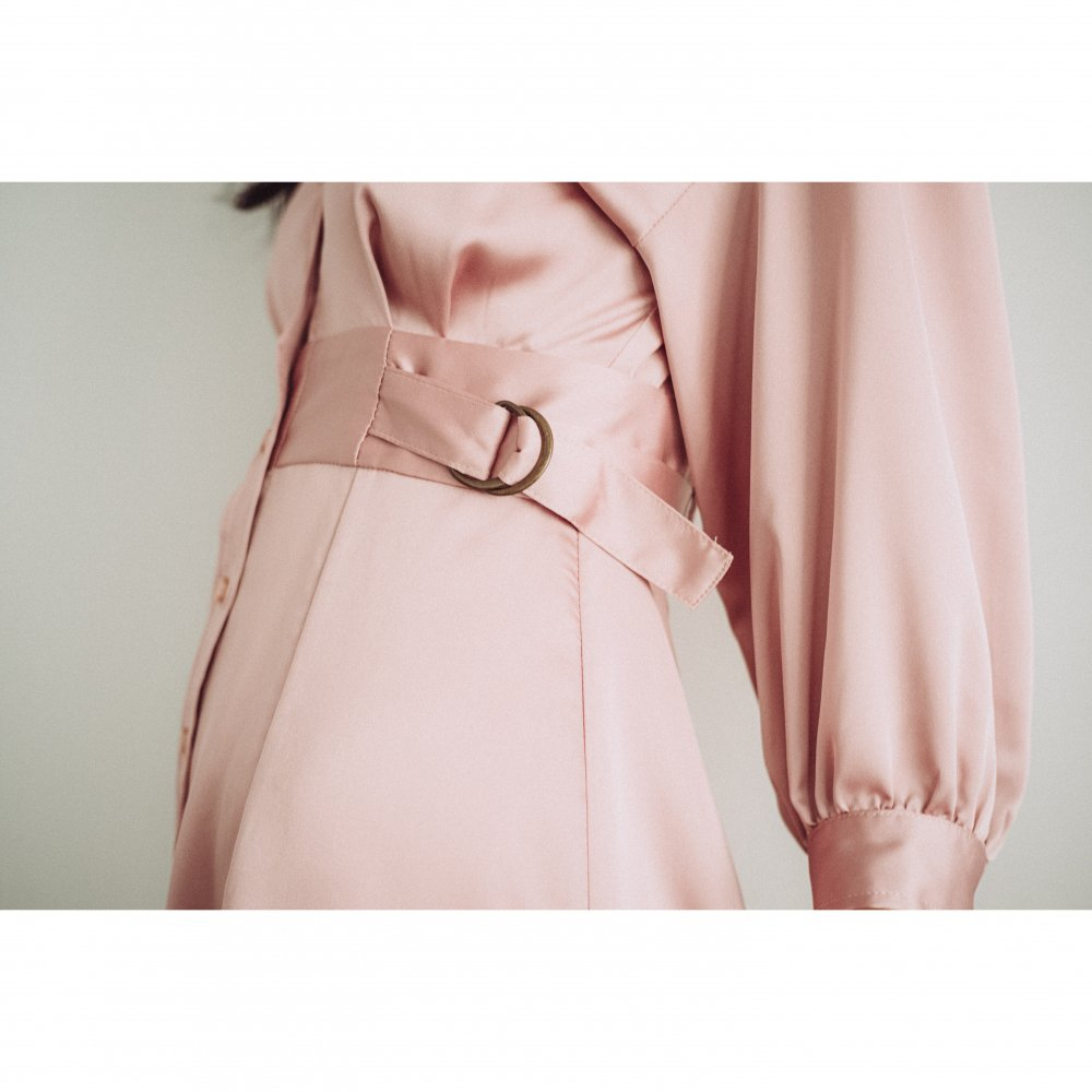 THE SHIRT MINI DRESS(PINK)<img class='new_mark_img2' src='https://img.shop-pro.jp/img/new/icons21.gif' style='border:none;display:inline;margin:0px;padding:0px;width:auto;' />
