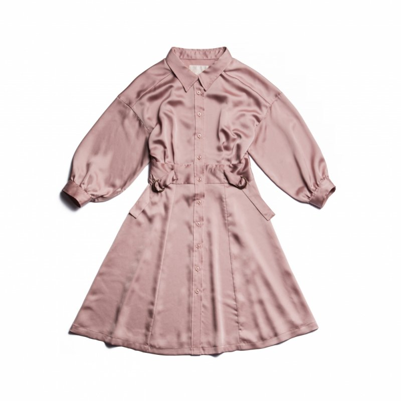 GYF TOKYO - THE SHIRT MINI DRESS(PINK)