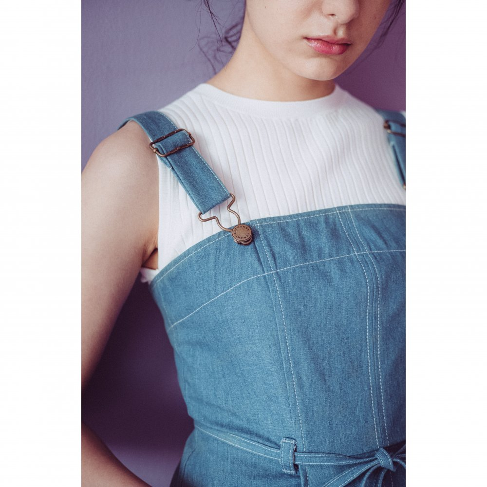 THE DENIM JUMPER DRESS(DENIM BLUE)<img class='new_mark_img2' src='https://img.shop-pro.jp/img/new/icons21.gif' style='border:none;display:inline;margin:0px;padding:0px;width:auto;' />