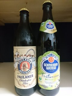 来年こそミュンヘンに行くぞ!の思いを込めて・・・(待望のヴァイスヴルスト入り!&フェストビール付き)