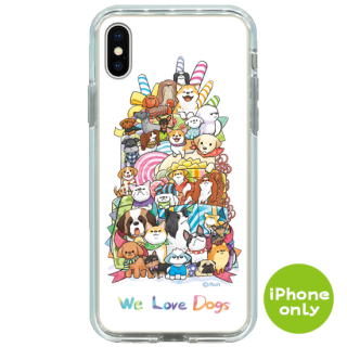 WE LOVE DOGS (スマホケース・ミラーケース)<img class='new_mark_img2' src='https://img.shop-pro.jp/img/new/icons1.gif' style='border:none;display:inline;margin:0px;padding:0px;width:auto;' />
