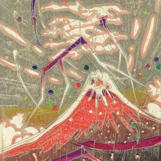 雷鳴赤富士(VII)