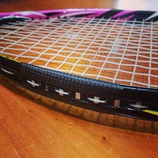テニス&ソフトテニスラケット修理(破損1箇所)