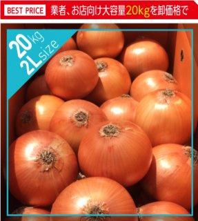 追熟甘玉ねぎ 2L 20kg | 送料無料 | 淡路玉葱