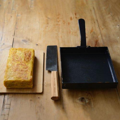 ラバーゼ 鉄玉子焼き器 18×18cm