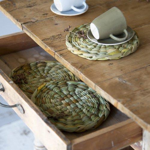 水草 テーブルマット ラウンド(小)