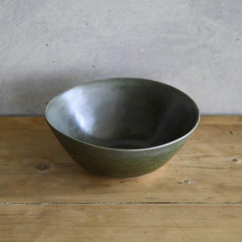 ペロション 中鉢  ダークグリーン