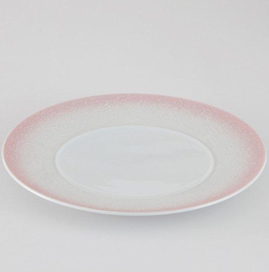 バロック ピンクラスター 28cmプレート 洋食器 丸型プレート 25cm〜30cm 業務用 約28cm 肉料理 魚料理 主菜