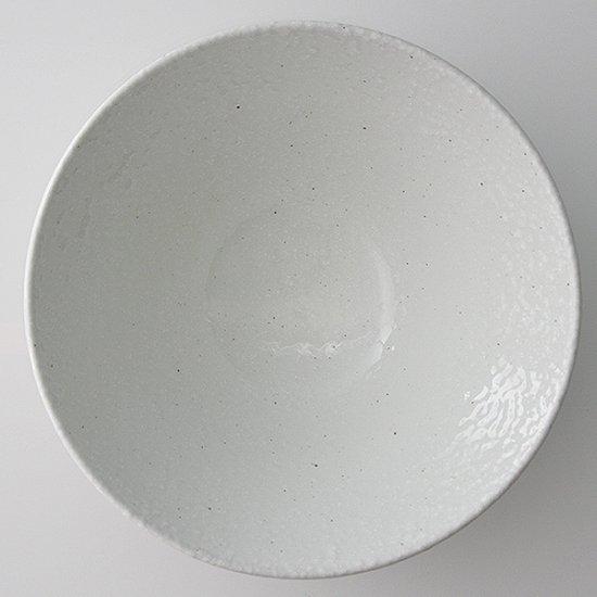 白粉引 8.0高台丼 中華食器 ラーメン丼 業務用