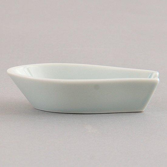 青磁第二受台 中華食器 レンゲ 業務用 約9.8cm 磁器製 れんげ ラーメンレンゲ れんげスプーン さじ 鍋焼うどん おかゆ 雑炊 チャーハン リゾット 鍋料理