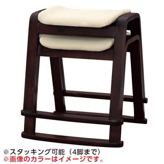 木製 スツール ベージュ W-406P 木製品 座敷椅子 業務用