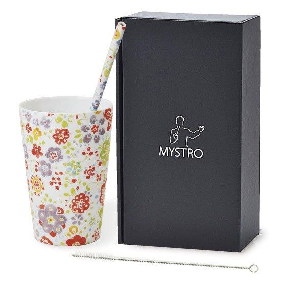 MYSTRO primo マイストロプリモ&プリモタンブラー なごみ オリジナルBOX入り 陶磁器ストロー 陶製ストロー 美濃焼ストロー