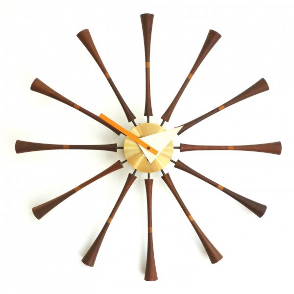 Spindle Wall Clock Model No.2239 (Wind-up)