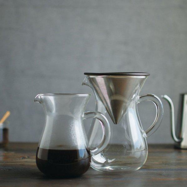 SLOW COFFEE STYLE コーヒーカラフェセット ステンレス 600ml