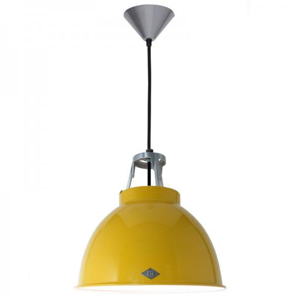 Titan Size 1 Pendant Light (Yellow/White)