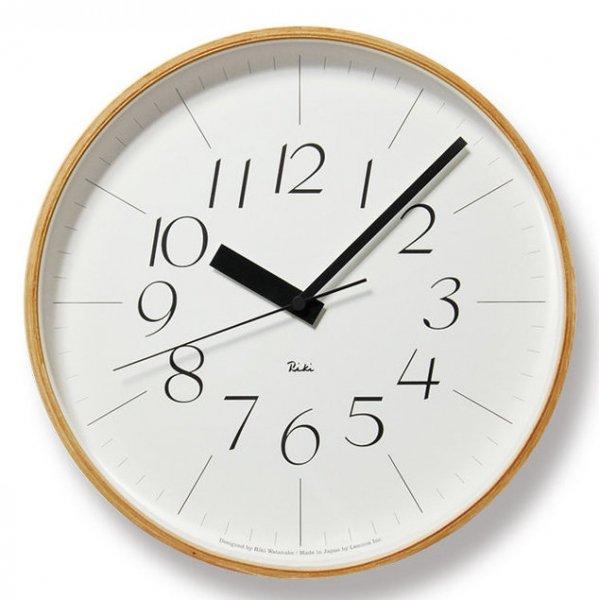 Riki Clock RC L 電波時計 (WR08-26)