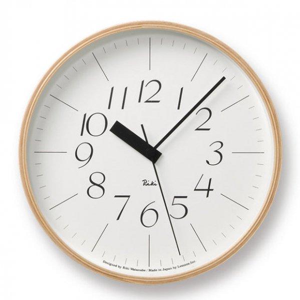 Riki Clock RC M 電波時計 (WR07-10)