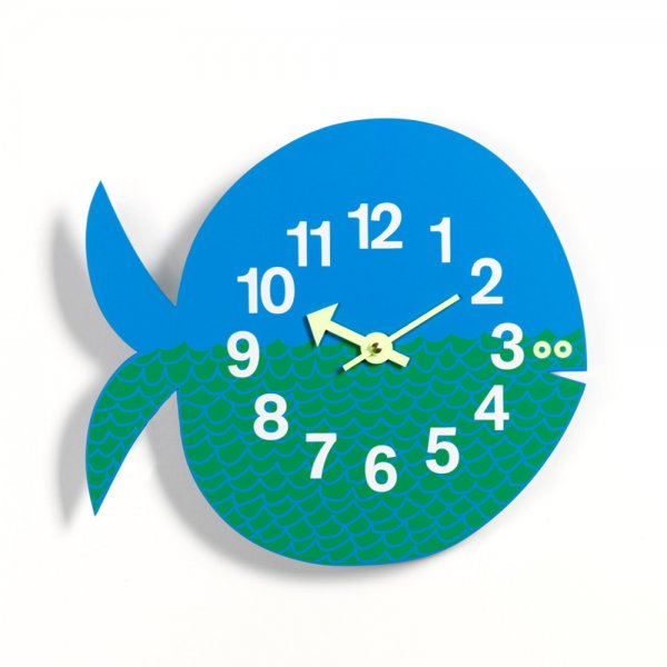 "Zoo Timer Clock ""Fernando the Fish"