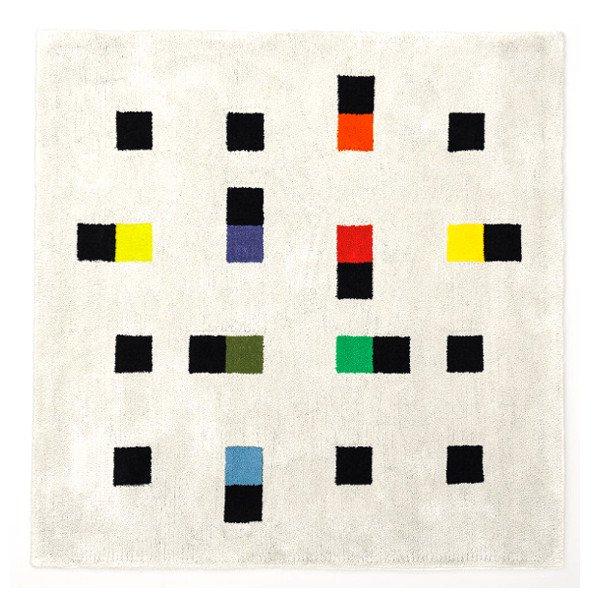 Max Bill Rug [colorful accents] 1800mm