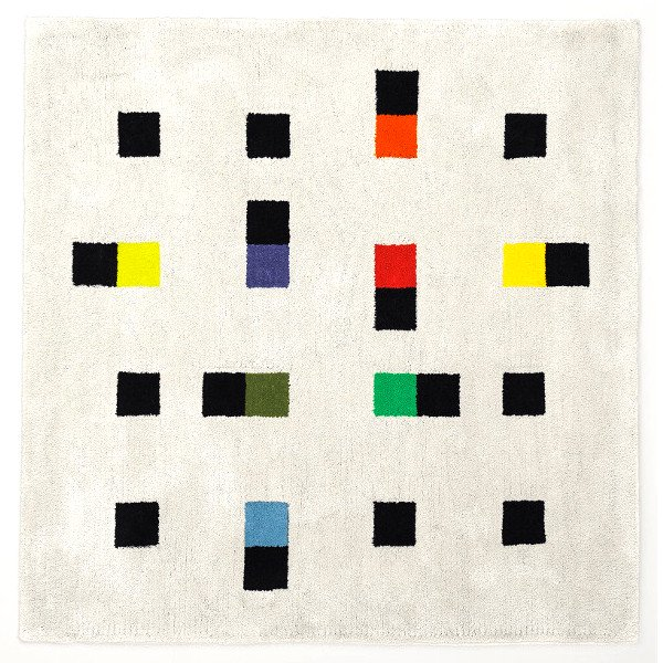 Max Bill Rug [colorful accents] 2000mm
