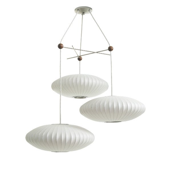 Triple Bubble Lamp Fixture