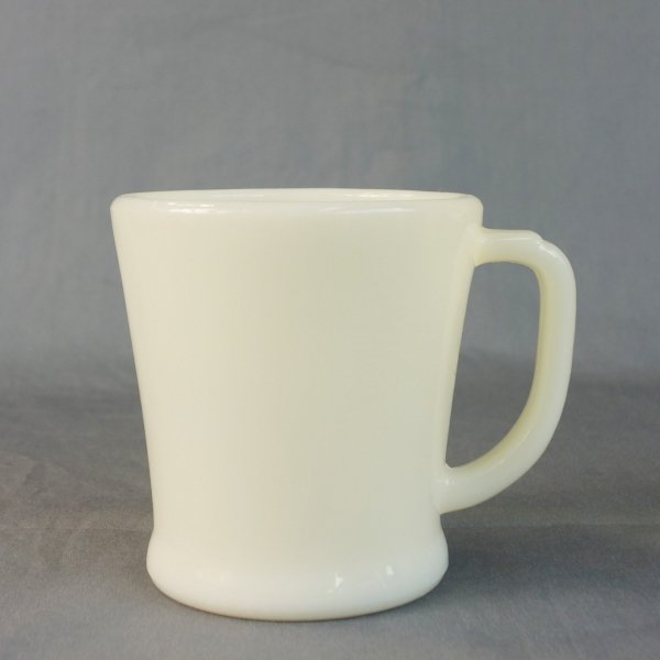 Fire-king D-Handle Mug (Flat Bottom)