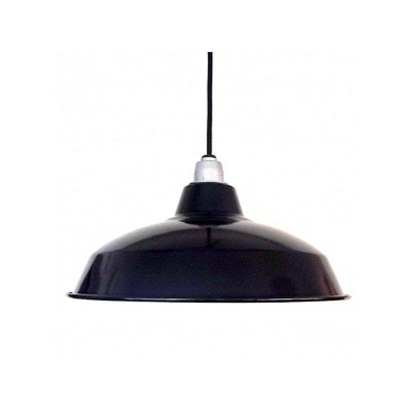 琺瑯(ホーロー)Lamp Shade 14inch / Socket & Cord Set